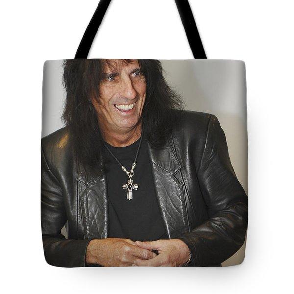 Alice Cooper Happy Tote Bag