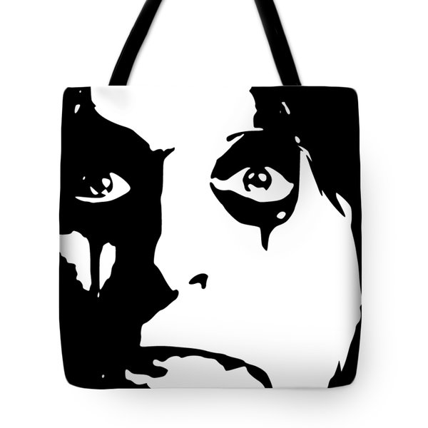 Alice Cooper Pop Art Tote Bag