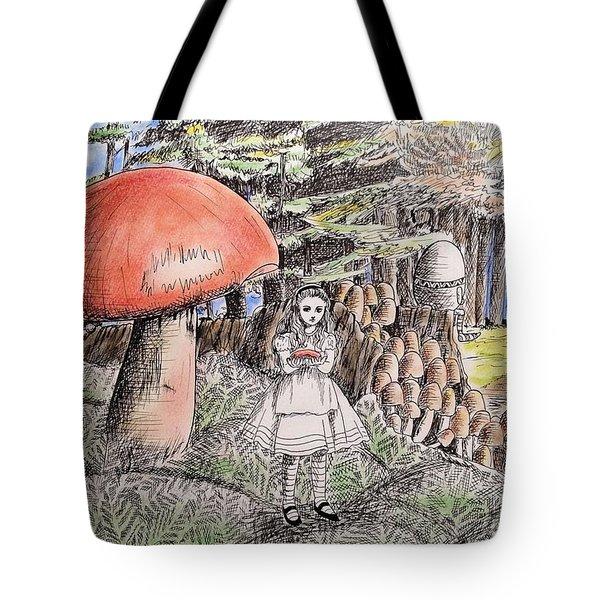 Alice In Wonderland 2 Tote Bag by Keiko Olds