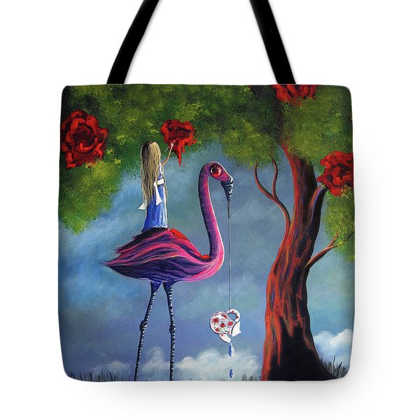Alice In Wonderland Artwork  Tote Bag