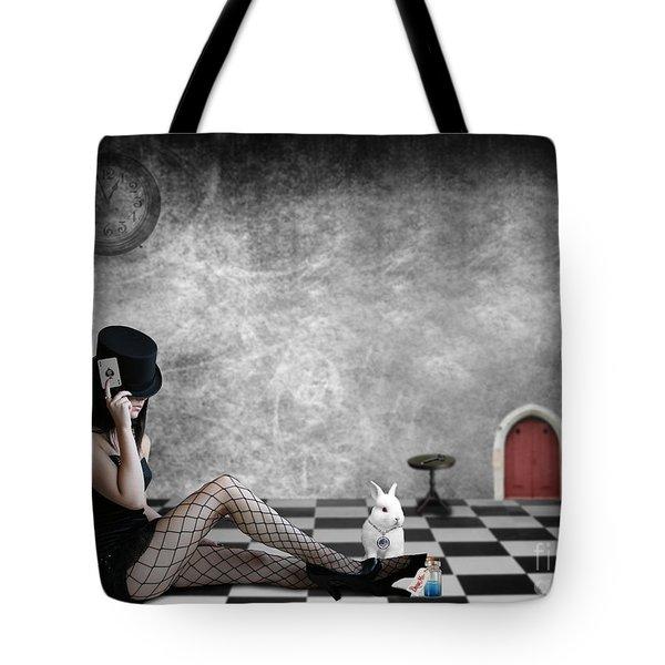 Alice Is Kinky Tote Bag