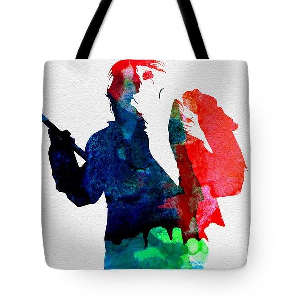 Alice Watercolor Tote Bag