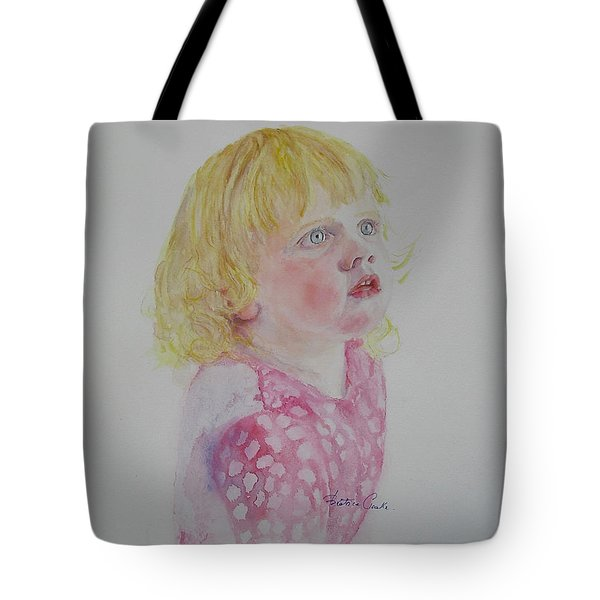 Alice Wondering Tote Bag by Beatrice Cloake