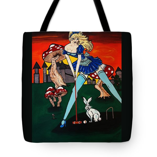 Alice's  In Wonderland Tote Bag