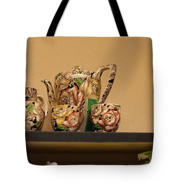 Alice's Tea Party Tote Bag