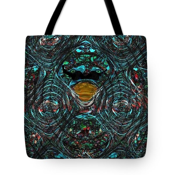Alien Ab-duck-tion Tote Bag