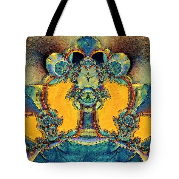 Alien Tote Bag by Alexandru Bucovineanu