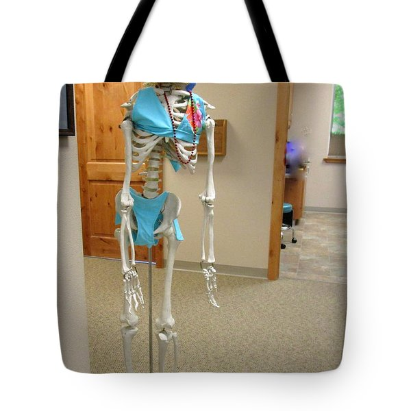 Tote Bag featuring the photograph Alien Beyond The Door by Marie Neder