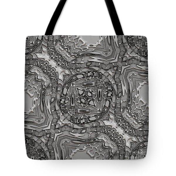Alien Building Materials Tote Bag by Craig Walters