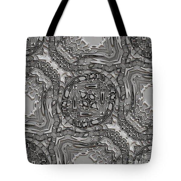Alien Building Materials Tote Bag