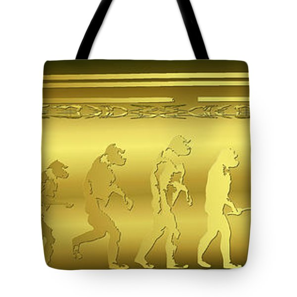 Alien Evolution Tote Bag