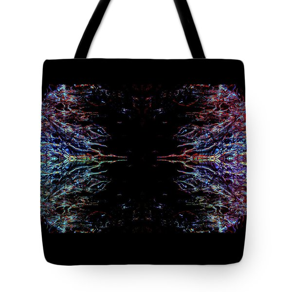 Alien Face Off Tote Bag