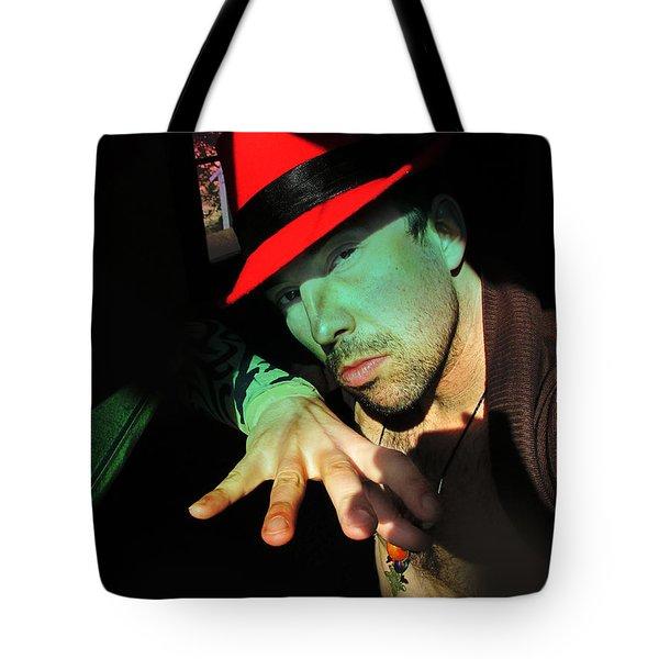 Alien Hat Tote Bag