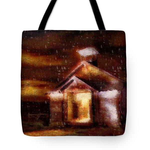 Alien Home Tote Bag