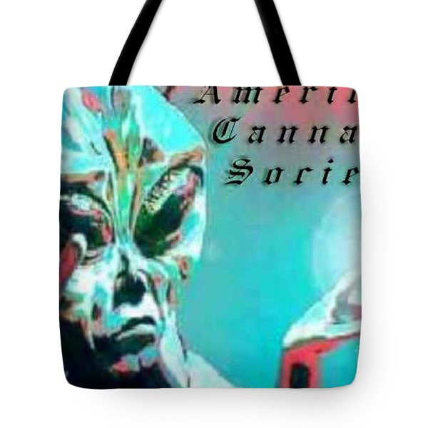 Alien Tote Bag by Michelle S White