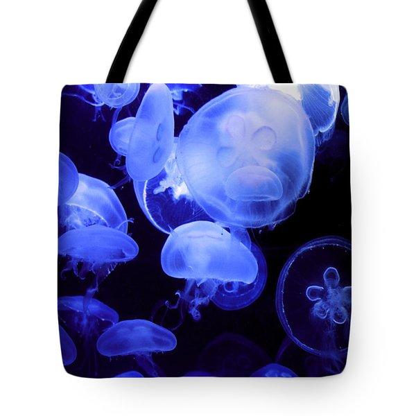 Alien Tote Bag by Mitch Cat
