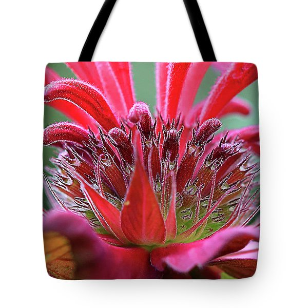 Alien Plant Life Tote Bag