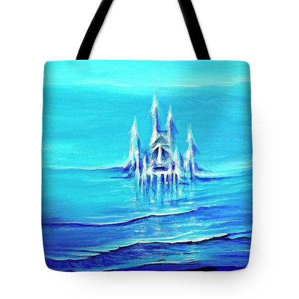 Alien Skies Tote Bag