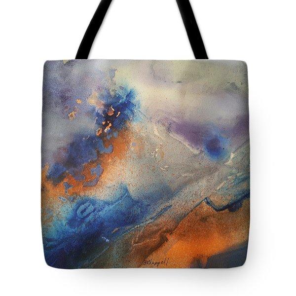 Alien Terrain Tote Bag