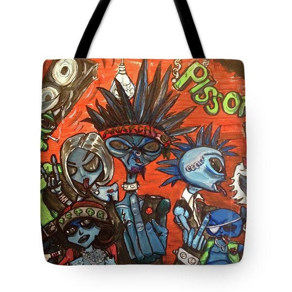 Aliens With Nefarious Intent Tote Bag