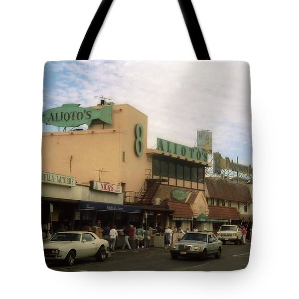 Alioto's Fisherman's Wharf Tote Bag