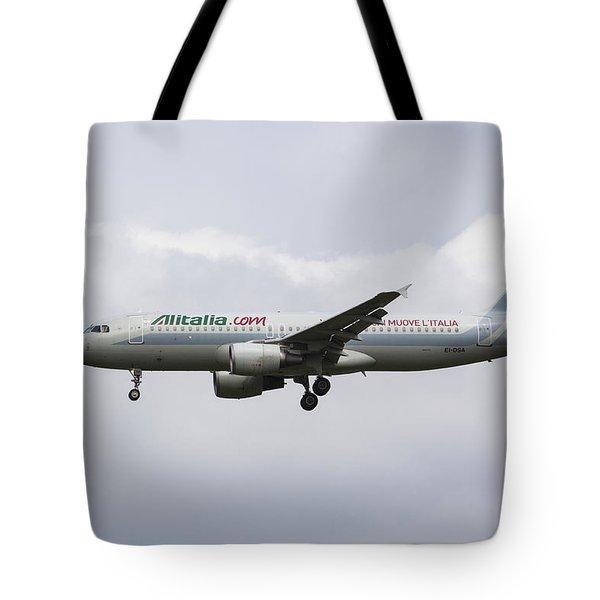 Alitalia Airbus 320 Tote Bag