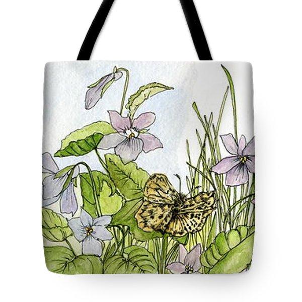 Alive In A Spring Garden Tote Bag