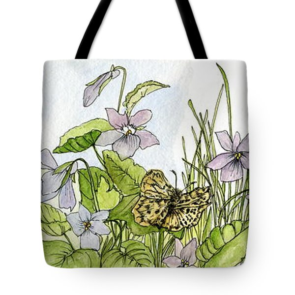 Alive In A Spring Garden Tote Bag