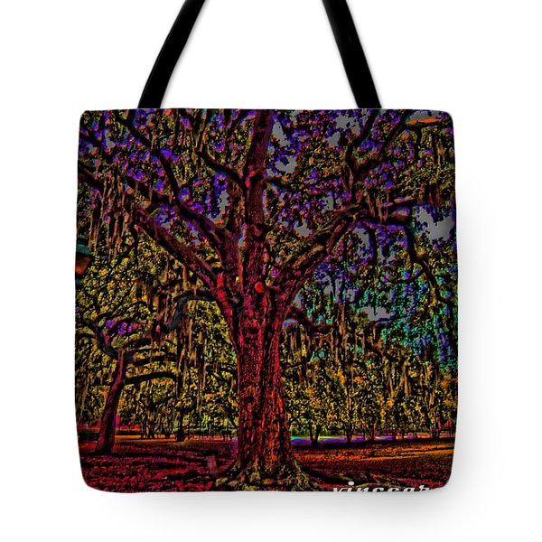 Alive Oak Tote Bag