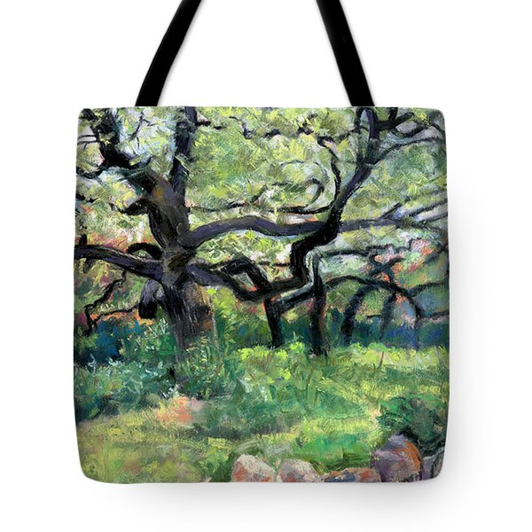 Alive Oaks Tote Bag by Julie Maas
