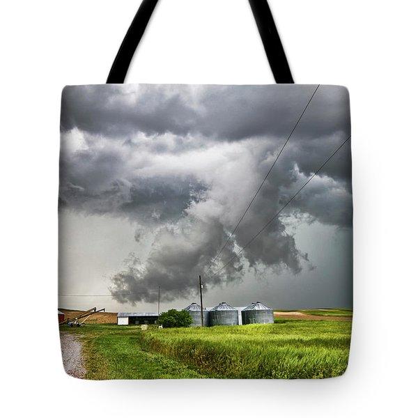 Alive Sky In Wyoming Tote Bag