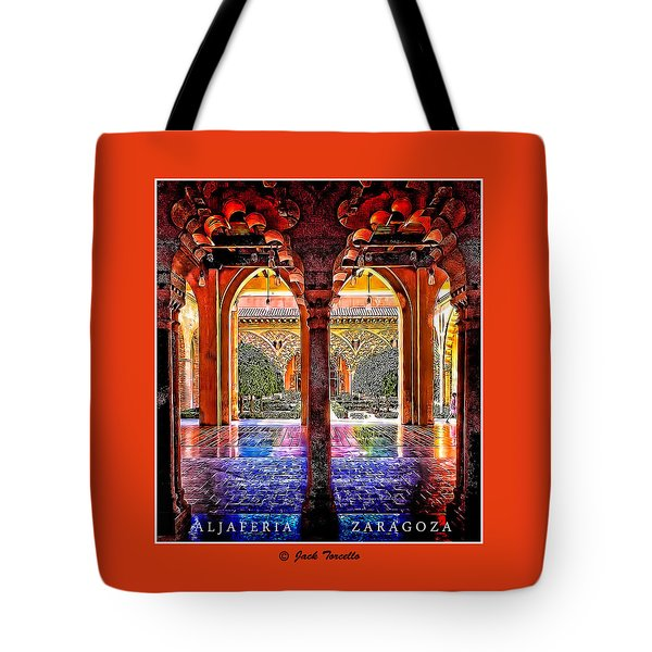 Aljaferia Coloratura Tote Bag by Jack Torcello