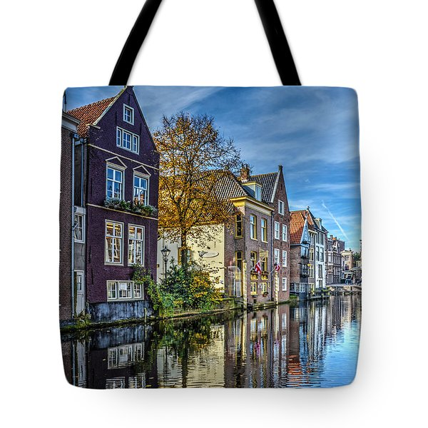 Alkmaar From The Bridge Tote Bag