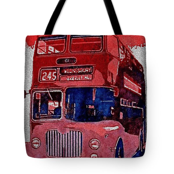 Tote Bag featuring the painting All Aboard by Mark Taylor