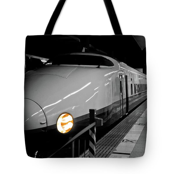 All Aboard Tote Bag by Sebastian Musial