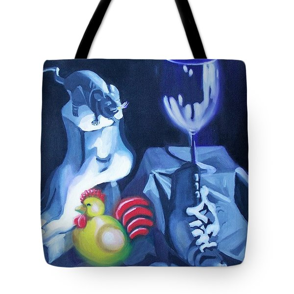 All About The Rooster Tote Bag