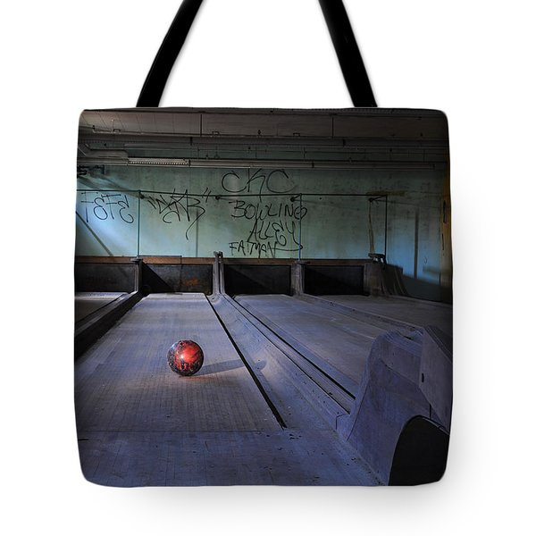 All Alone Tote Bag by Luke Moore