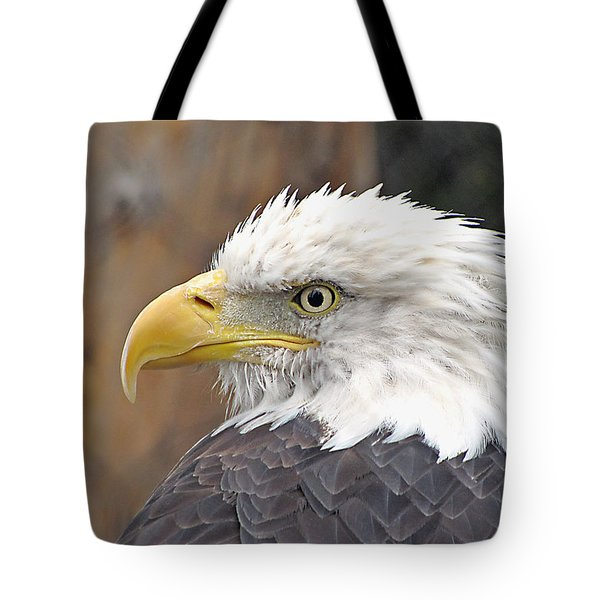 Tote Bag featuring the photograph All American Bird by Martha Ayotte