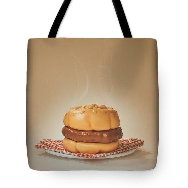 All-american Burger Tote Bag