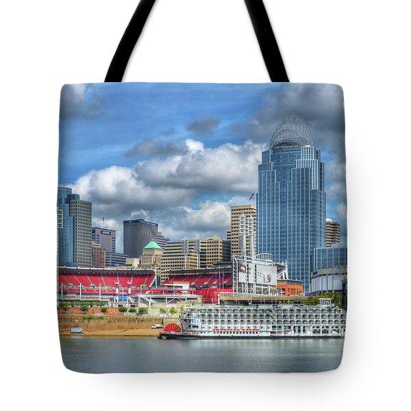 All American City Tote Bag