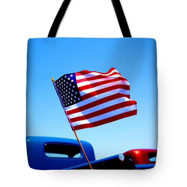 All American Tote Bag by Ralph Vazquez