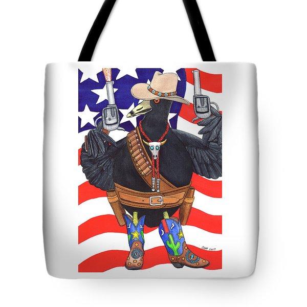All American, Rootin' Tootin' Shootin' Coot Tote Bag