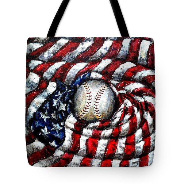 All American Tote Bag by Shana Rowe Jackson