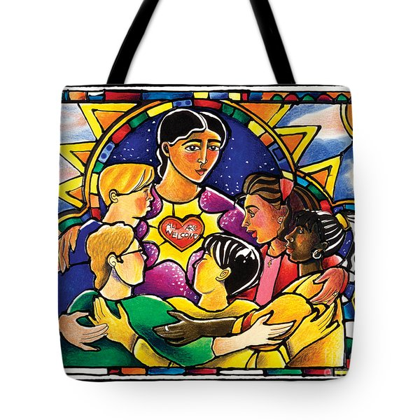 All Are Welcome - Mmaaw Tote Bag