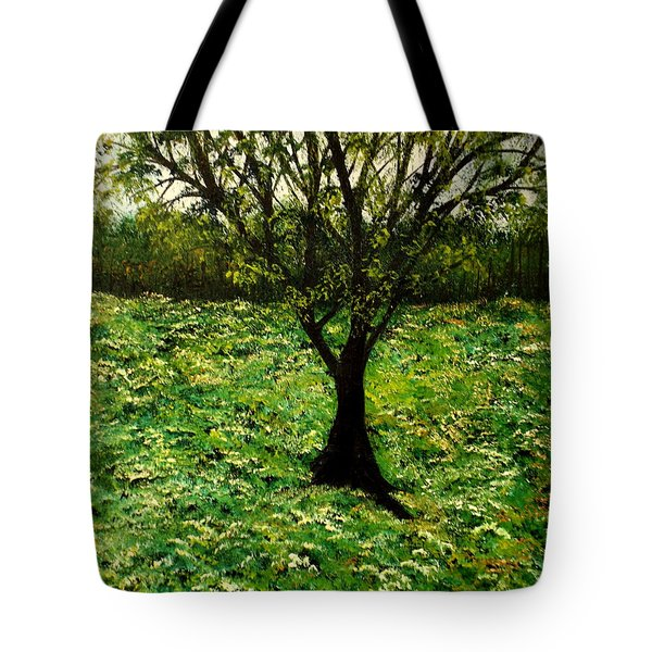 All Around The Turmoil Tote Bag