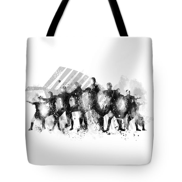 All Blacks Haka Tote Bag