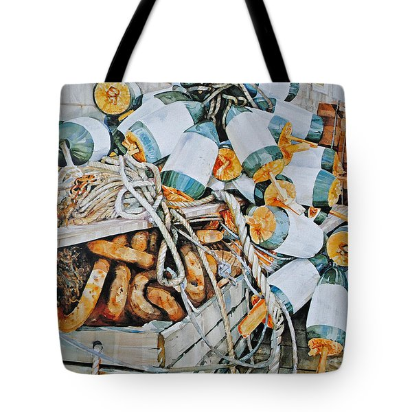 All Buoy'd Up Tote Bag