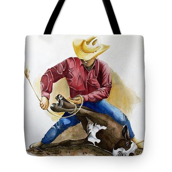 All Cinched Up Tote Bag by Jimmy Smith