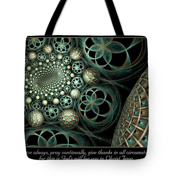 Tote Bag featuring the digital art All Circumstances by Missy Gainer