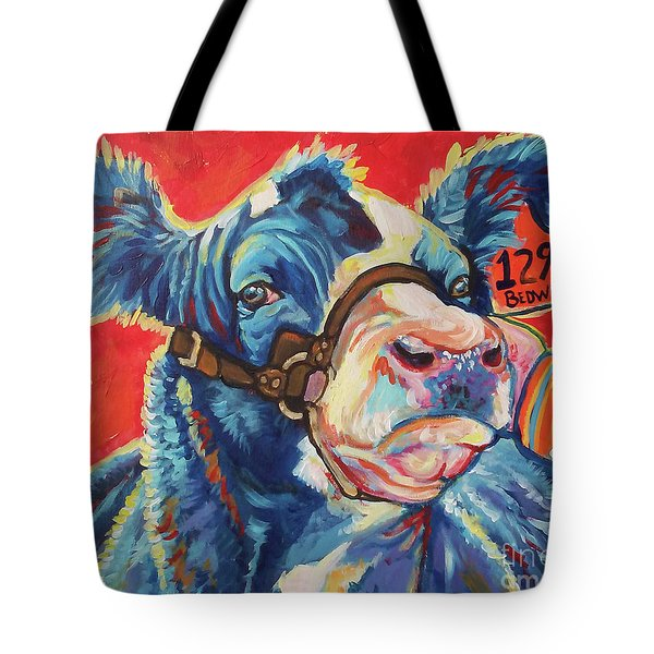 Tote Bag featuring the painting All Dolled Up by Jenn Cunningham